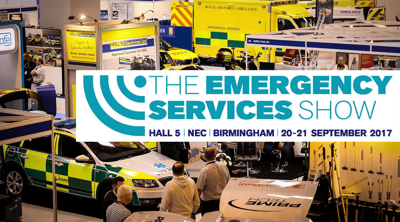 SP Services at the Emergency Services Show 2017 NEC