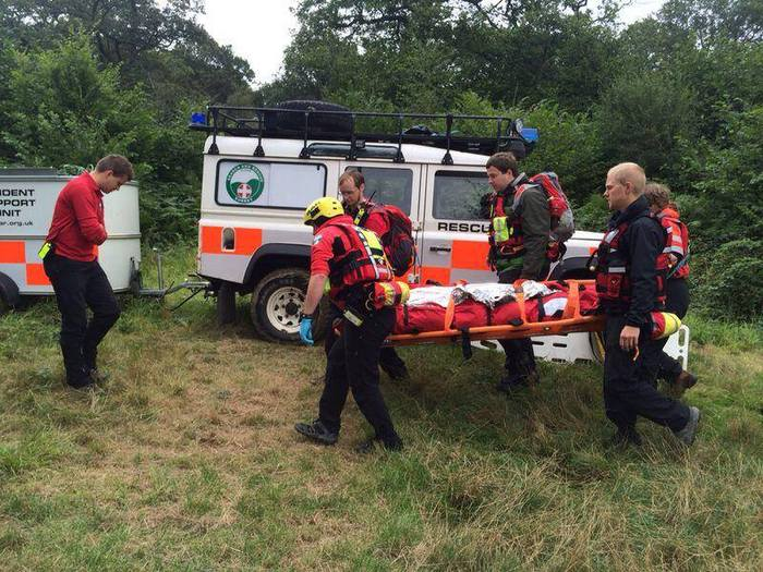 Surrey Search and Rescue is a member unit of the UK's Lowland Rescue Service