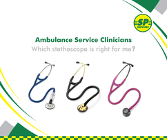 Ambulance Service Clinicians- Which stethoscope is right for me?