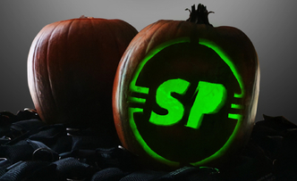 Carve Your Own Spooky SP Pumpkin