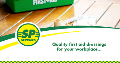 Quality first aid dressings for your workplace...