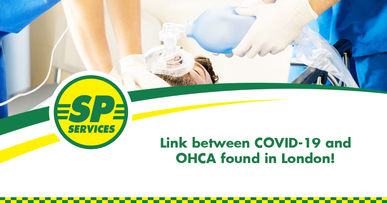 Link between COVID-19 and OHCA found in London!