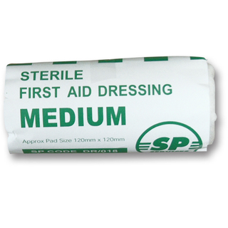 SP Medium Sterile Flow Wrapped HSE Dressing - 12 x 12cm