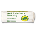 SP No 1 Ambulance Dressing - 12 x 10cm