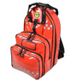 SP Parabag First Responder AED & Oxygen Backpack Red - TPU Fabric