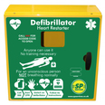 SP 1000 Defib Cabinet, Unlocked with Heating and Light - Stainless Steel