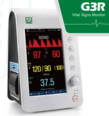 SP G3R Vital Signs Patient Monitor with NIBP, SpO2, Temp and Heart Rate